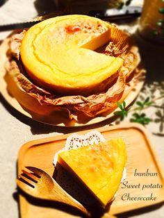 簡単スイートポテトチーズケーキ