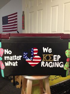 No matter what, we keep raging. TFM.