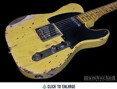 Nash T-52 Guitar, Butterscotch Blonde | Humbucker Music