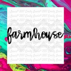 Farmhouse svg  farmhouse svgs  farmhouse cut files