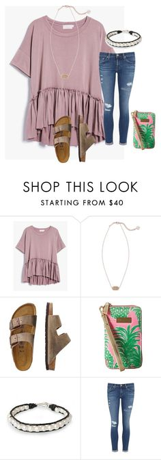 """I'm ready to go school shopping !!"" by tankawanka ❤ liked on Polyvore featuring Kendra Scott, TravelSmith, Lilly Pulitzer, NOVICA and AG Adriano Goldschmied"