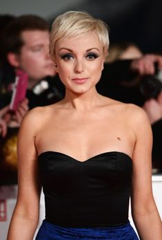 Helen George blonde hair. pretty |