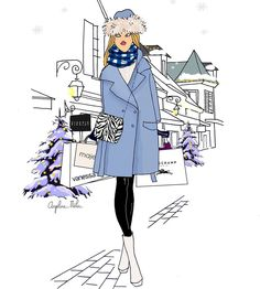 #dailypic#instagood#angelinemelin#blogueuse#lavalleevillage#angelinemelinxdoitinparis#noel#hiver#winter#mood#look#style#fashion#drawing