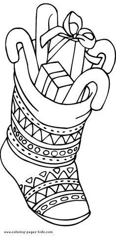 free printable christmas gifts coloring pages for kids free online