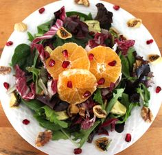 Festive Clementine and Avocado Salad Recipe