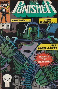 The Punisher # 34 Marvel Comics Vol. 2