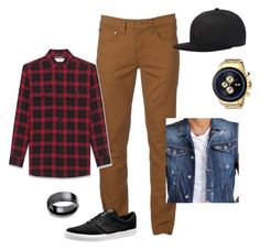 """Untitled #33"" by bananasfoster-1 on Polyvore featuring Urban Pipeline, Yves Saint Laurent, Dsquared2, Puma, men's fashion and menswear"