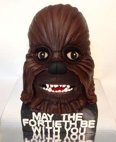 how to make a chewbacca cake