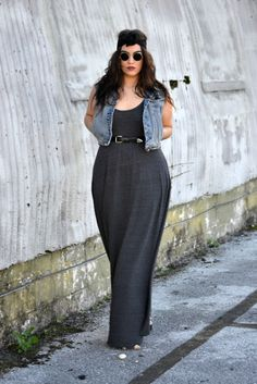 I like this look !. Plus size