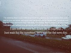 """We the Kings """"Rain Falls Down"""" Rain Fall Down, We The Kings, The Last Song, Big Time Rush, Nicholas Sparks, Wipe Away, My Escape, How To Better Yourself, Music Lyrics"""