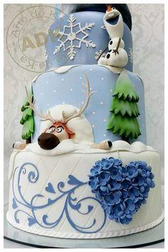 A diferentes Frozen cake