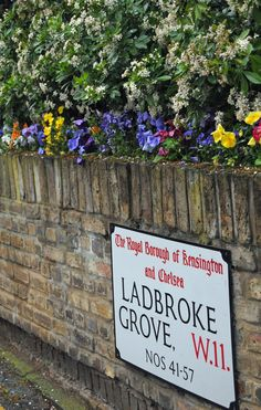 Ladbroke Grove, Notting Hill London