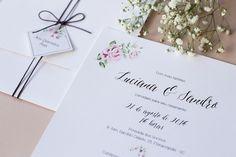Convite Delicadeza Rosé