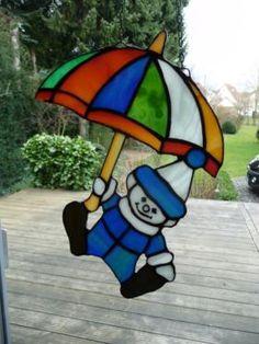 Tiffany Fensterbild Clown in Nordrhein-Westfalen - Beverungen   Basteln, Handarbeiten und Kunsthandwerk   eBay Kleinanzeigen