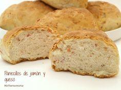 Panecillos de jamón y queso - MisThermorecetas