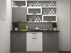 Image result for cabinets for crockery modern designs