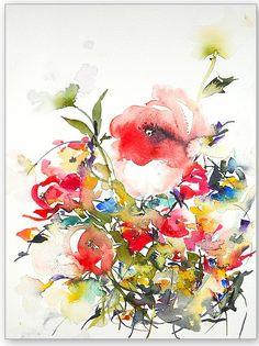 Summer Garden One- Karin Johannesson imageconscious.com
