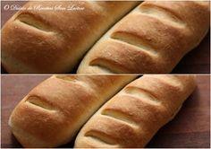 O Diário de Receitas Sem Lactose: Pão Caseiro Sem Lactose