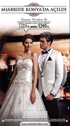 Gelinlikler Konya gelinlik damatlik modelleri MIA BRIDE KONYA gelinlik + damatlik ikisi beraber 1295TL Herkesi mutlu eden marka #konya #bridal #gelin #damat #dugun #bride #wedding #hochzeit #brautmoden #braut #nisanlik #karaman #mode #moda #fashion #mia #bride #miabride #miabridekonya #konya #gelinlik #gelinlikler #aksehir #beysehir #seysidehir #kulu #cumra #ermenek #kulesite #kentplaza #tesettur