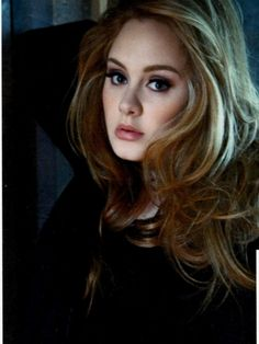 Adele - her hair always looks awesome.