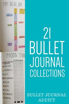 Collections To Add To Your Bullet Journal - Bullet Journal Collection Ideas - Bullet Journal Page Inspiration and Ideas Bullet Journal Index, Bullet Journal Quotes, Bullet Journal Tracker, Bullet Journal Layout, Bullet Journal Inspiration, Journal Pages, Journal Ideas, Habit Trackers, Great Books To Read
