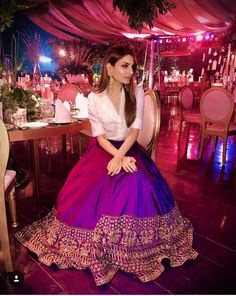 Lovely Dresses, Trendy Dresses, Fashion Dresses, Indian Attire, Indian Outfits, Mehendi Outfits, Indian Skirt, Lehnga Dress, Indian Gowns Dresses