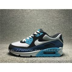 on Nike Air Max 90 Mens UK in the shop.We guarantee that the shoes you buy are authentic, and we also offer you free home delivery. Air Max 1, Nike Air Max, Blue Grey, Black And Grey, Air Max Sneakers, Sneakers Nike, You Look, Nike Men, Take That