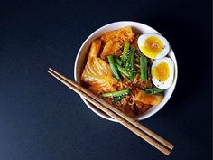 Rabokki is what you get when you mix together RAmen and tteokBOKKI, a popular spicy Korean street food made of rice cakes.