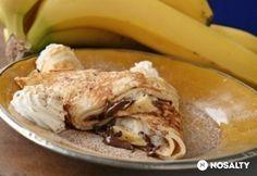 Banános - Nutellás almáspalacsinta