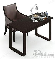 沙发椅  书桌 3d模型 (189658)