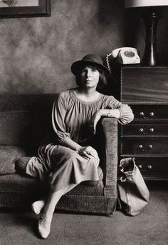 Dame Margaret Drabble (Lady Holroyd, 1980) by Jane Bown.