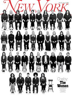 35 Cosby Accusers Come Forward, Are Photographed For New York