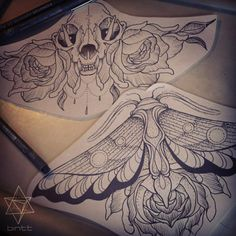 and moths. Binttt@hotmail.co.uk for appointments. #tattoo#tattoos ...