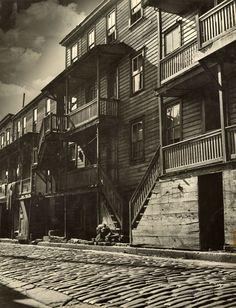 Jack Delano - Shenandoah Houses: Schuylkill County, Pennsylvania 1938-1939