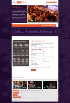 LCBC Exponential Campaign Website