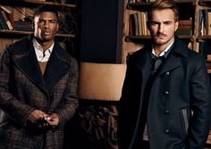 Survive winter without sacrificing style by shielding yourself in one of these modern takes on traditional overcoats.