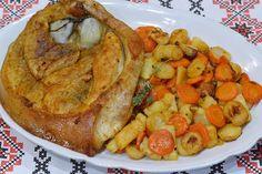 Dovlecei umpluti cu carne - CAIETUL CU RETETE French Toast, Dinner, Breakfast, Desserts, Kitchens, Recipes, Pork, Dining, Morning Coffee