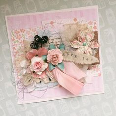 15*15 greeting card for the most tender moments