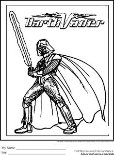 Star Wars Coloring Pages 2017 Dr Odd Tymek Pinterest Darth