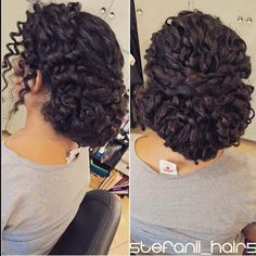 Top 100 curly updos photos I wish i had a before and after. This girl had some beautiful curly locks. I just cleaned up the curls and made it an updo! Love this look. #curlyhairstyles #curlyhair #curlyupdos #updos #braidsandcurls #braids #stefanii_hair5 See more http://wumann.com/top-100-curly-updos-photos/