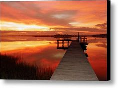 Dawn Of New Year Canvas Print / Canvas Art By Karen Wiles