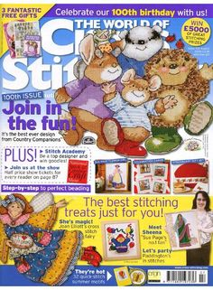 The World of Cross Stitching Issue 100 August 2005 Saved
