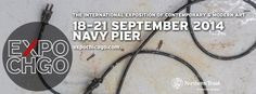 EXPO Chicago returns for the 3rd year at Navy Pier on September 18-21, 2014 with 140 international galleries.
