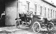 1907 Fuller Four Passenger Touring Car- The Angus Automobile Company  Angus, Nebraska  1907-1909 -The Fuller car were sometimes listed or called the Angus. The company enjoyed a successful but brief production run from 1907 to 1909. Two Fuller Touring cars were equipped with four cylinder engines rated at 22/26 horsepower. A third Fuller Touring car was equipped with a 60 horsepower six cylinder engines. A disagreement with stockholders 1908 prompted Charles M. Fuller to close the plant.