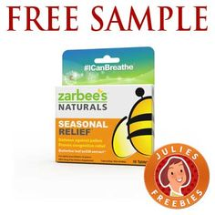 Free Sample of Zarbee's Naturals Seasonal Relief Free Stuff By Mail, Get Free Stuff, Coupons For Free Items, Freebies By Mail, Crazy Tattoos, Diy Crafts For Home Decor, Get Free Samples, Giveaways, Projects To Try