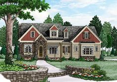 Kirkwood - Home Plans and House Plans by Frank Betz Associates