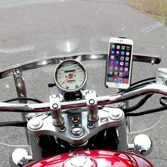 eCaddy® Urban Diamond Motorcycle iPhone Mount for Windshield The most versatile…