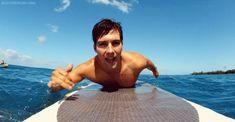 Cuando surfeaba como si fuera lo más fácil del mundo