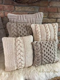 Body Pillow Throw Pillows Proper Pillow Sleeper For Pregnancy Best Pillow For Stiff Neck – lycheetal Knitting Projects, Crochet Projects, Knitted Cushions, Knit Pillow, Crochet Pillow Cases, Crochet Home Decor, Decorative Pillows, Crochet Patterns, Cable Knitting Patterns
