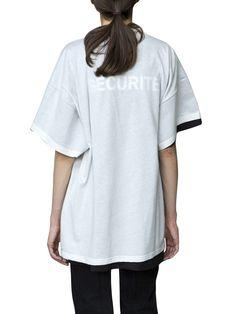VETEMENTS VETMENTS X HANES DOUBLE T-SHIRT. #vetements #cloth #